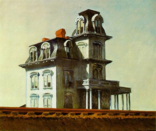 House by the Railroad - E. Hopper