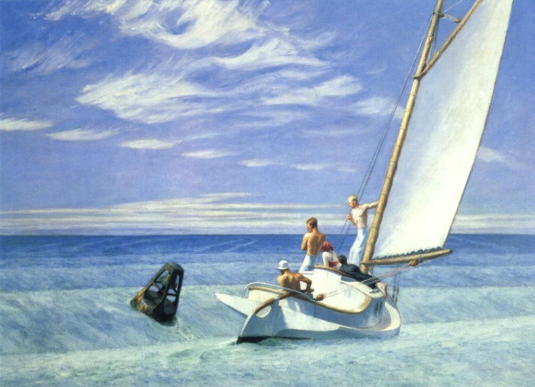Ground Swell - E. Hopper