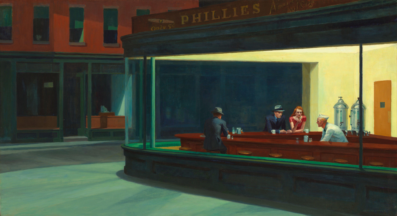 Nighthawks - E. Hopper