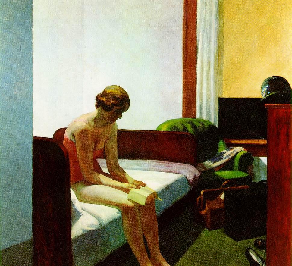 Hotel Room - E. Hopper