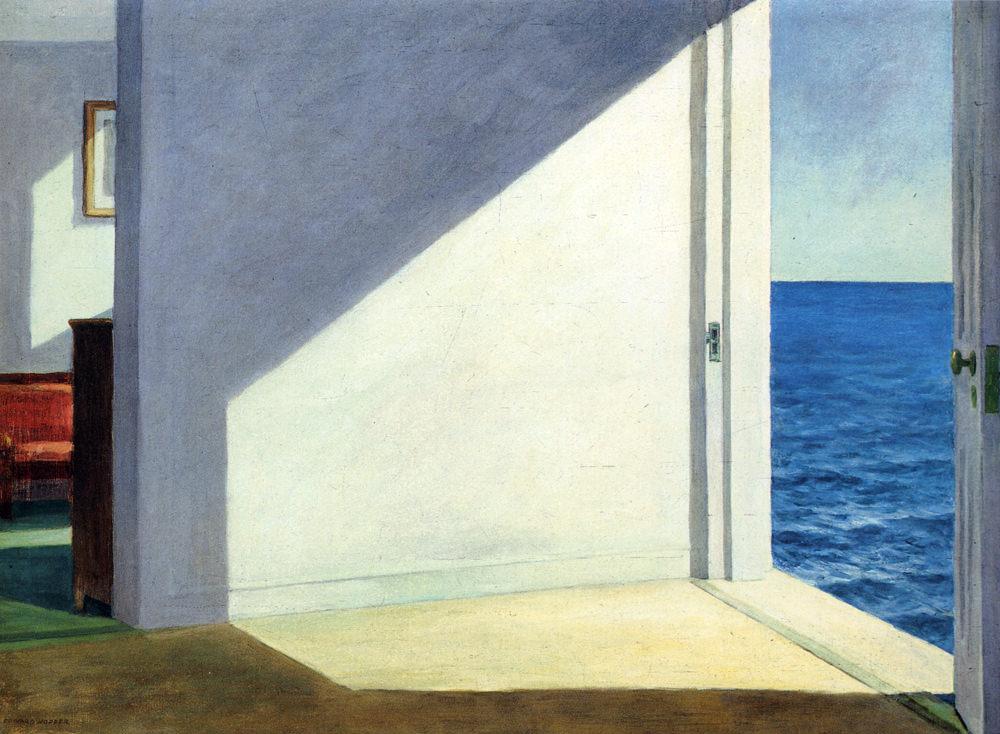 Rooms by the Sea - E. Hopper