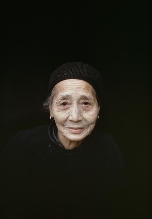 CHINA. Retired woman. 1979.