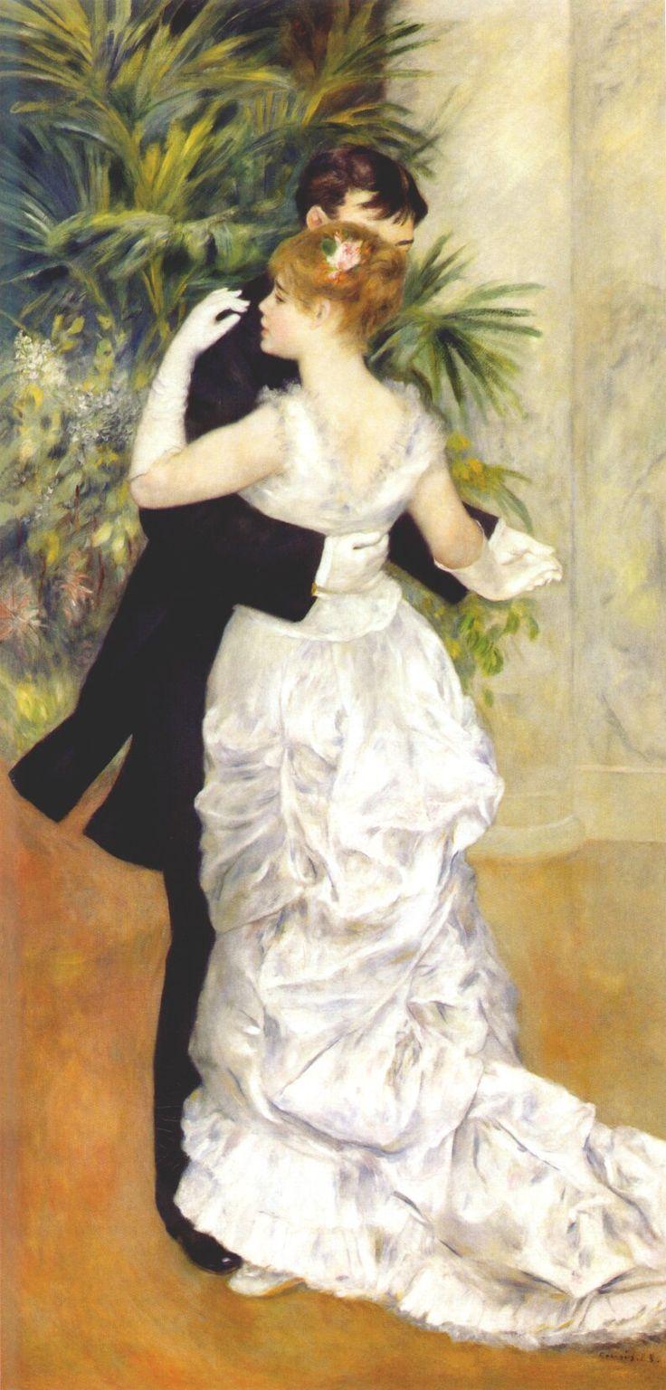 Danse à la ville - Renoir, 1883