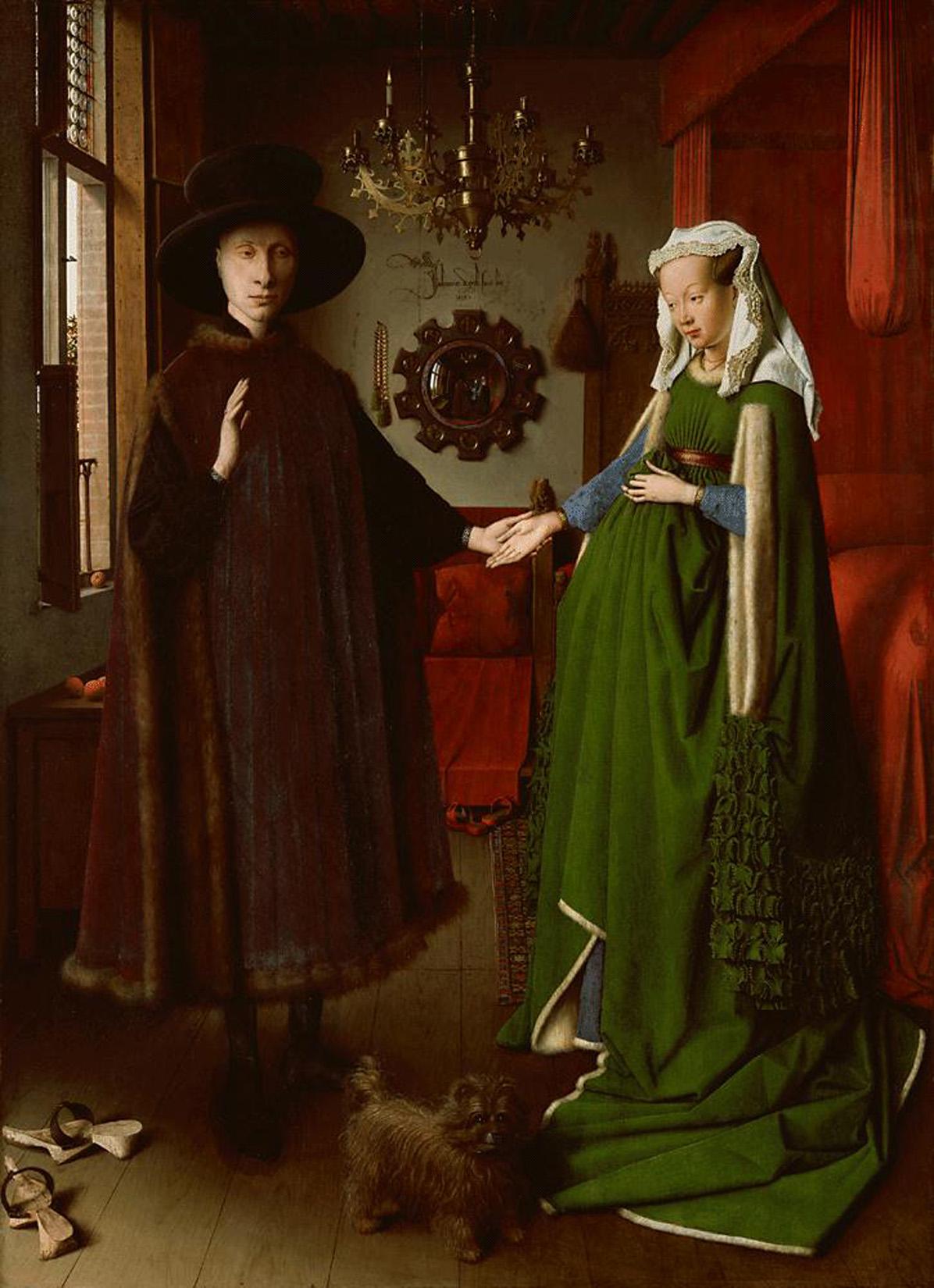 Les Epoux Arnolfini - Jan Van Eyck, 1434