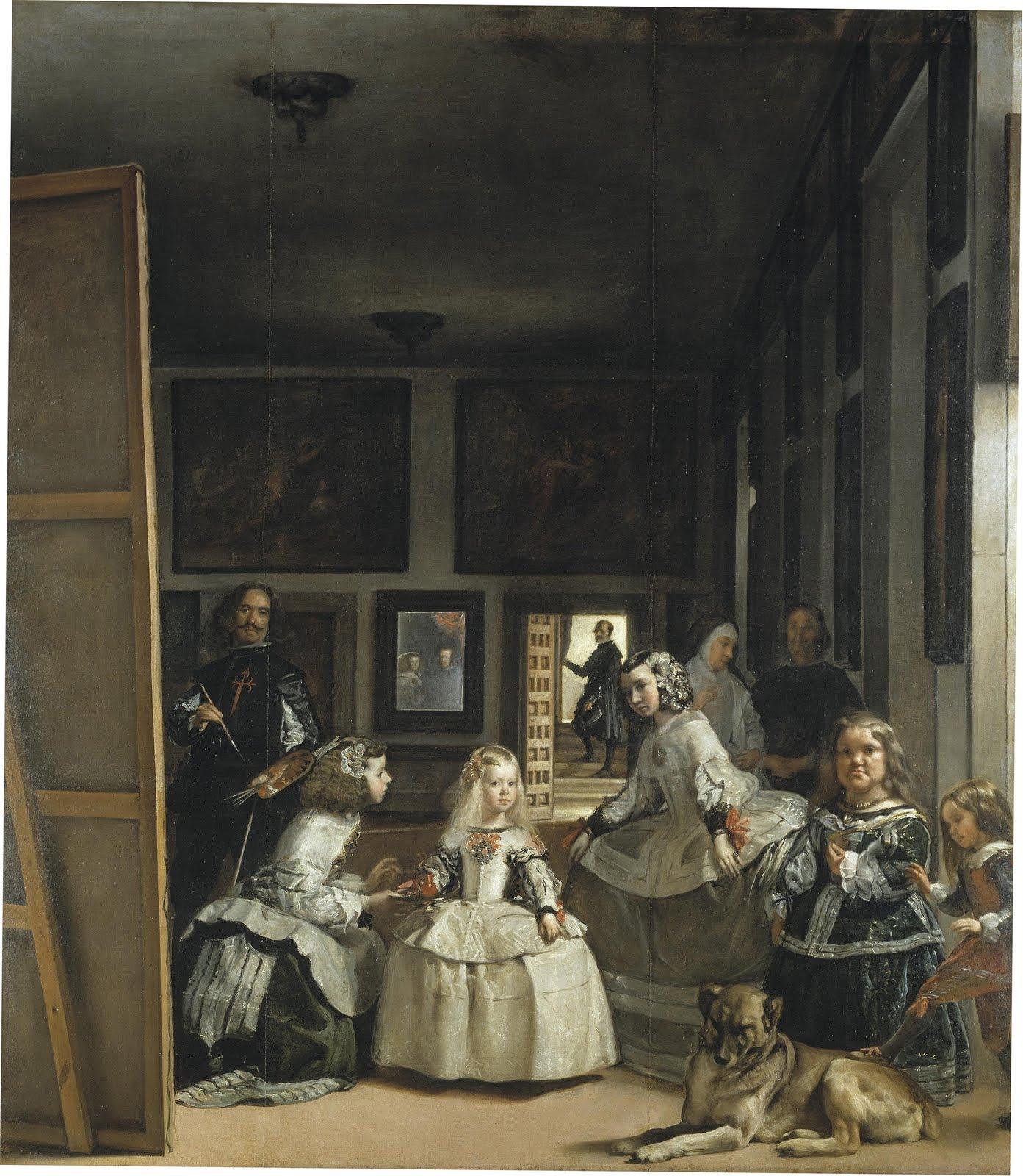 Les Ménines - Diego de Velazquez, 1656